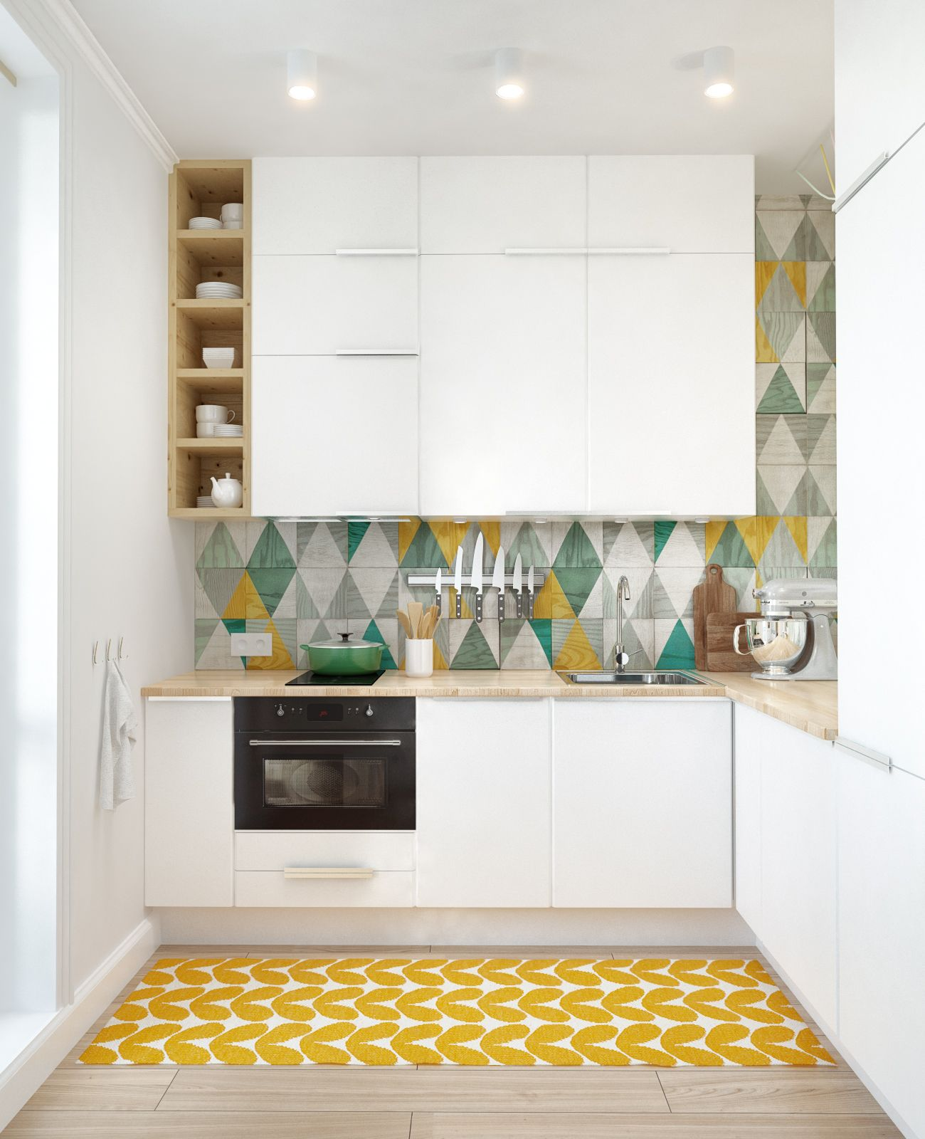 8-small-kitchen-home-design-with-white-corner-kitchen-ideas-and-wall-kitchen-container