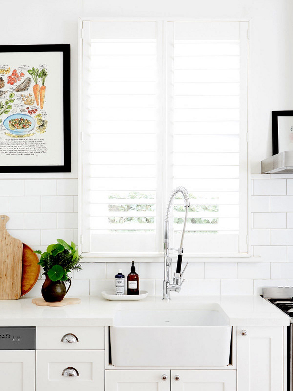 2-white-kitchen-with-pull-down-stainless-faucet-with-white-big-washbasin-and-indoow-plant